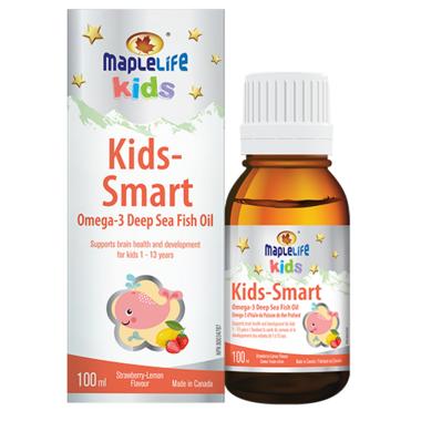 MapleLife Liquid Omega-3 Fish Oil for Kids