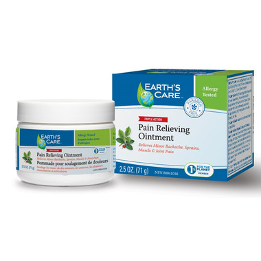 Earth\'s Care Triple Action Pain Relieving Ointment