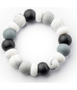 Little Cheeks Multi Ring Silicone Teether Monochrome