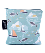 Colibri Reusable Snack Bag Large Narwhal