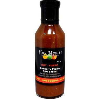 Hot Mamas Cranberry Pepper BBQ Sauce
