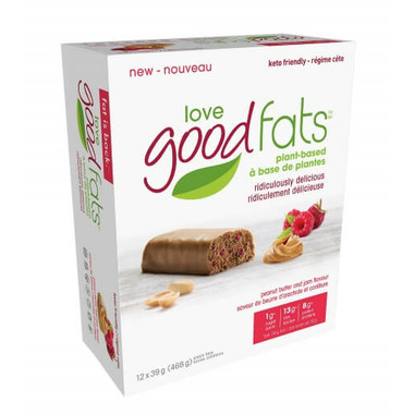Love Good Fats Peanut Butter and Jam Snack Bars