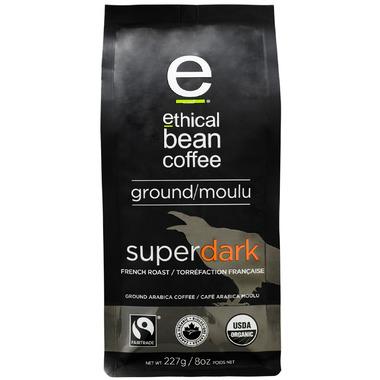 Ethical Bean Coffee Super Dark French Roast Whole Bean Coffee