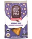 Que Pasa Organic Thin & Crispy Korean BBQ Tortilla Chips Bag