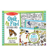 Melissa & Doug Seek & Find Sticker Pad Animals