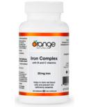 Orange Naturals Iron Complex 20mg