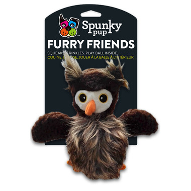 Spunky Pup Furry Friends Owl