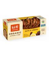 Kii Naturals Artisan Crisps Organic Date et citron