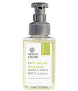 Nature Clean 100% Natural Foaming Hand Soap Vanilla Pear