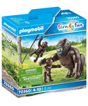 Playmobil Family Fun Gorilla with Babies