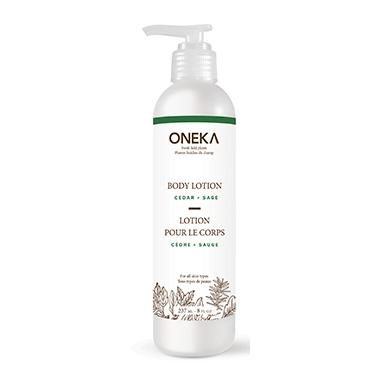 Oneka Cedar & Sage Body Lotion
