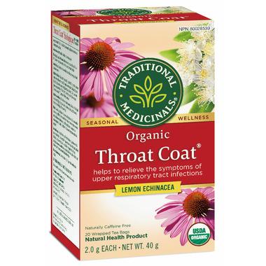 Traditional Medicinals Throat Coat Lemon Echinacea