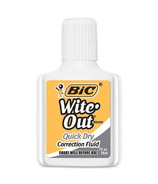 BIC Wite-Out Quick Dry Correction Fluid