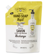 J.R. Watkins Lemon Liquid Soap Pouch Refill
