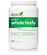Genuine Health Greens+ Whole Body Nutrition