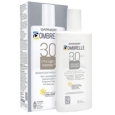 Ombrelle Ultra Light Face Sunscreen Lotion SPF 30