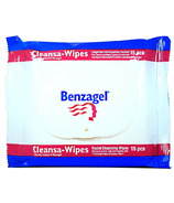Benzagel Cleansa-Wipes Facial Cleansing Wipes