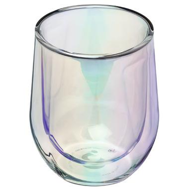 Corkcicle Stemless Glass Set Prism Edition