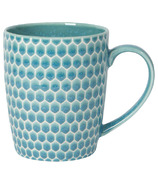 Now Designs Turquoise Mug Honeycomb