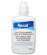 Rexall Decongestant Nasal Spray with Moisturizers