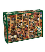 Cobblehill The Cat Library Puzzle