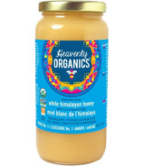 Heavenly Organics Raw White Himalayan Honey