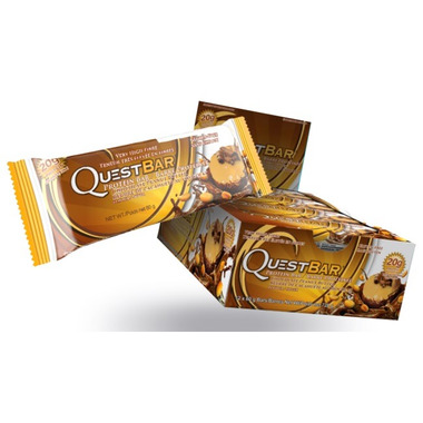Quest Nutrition Chocolate Peanut Butter Protein Bars