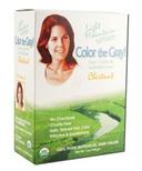 Light Mountain Semi-Permanent Color the Gray Natural Haircolor Chestnut