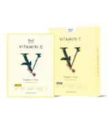 Rael Beauty Vitamin C Facial Sheet Masks