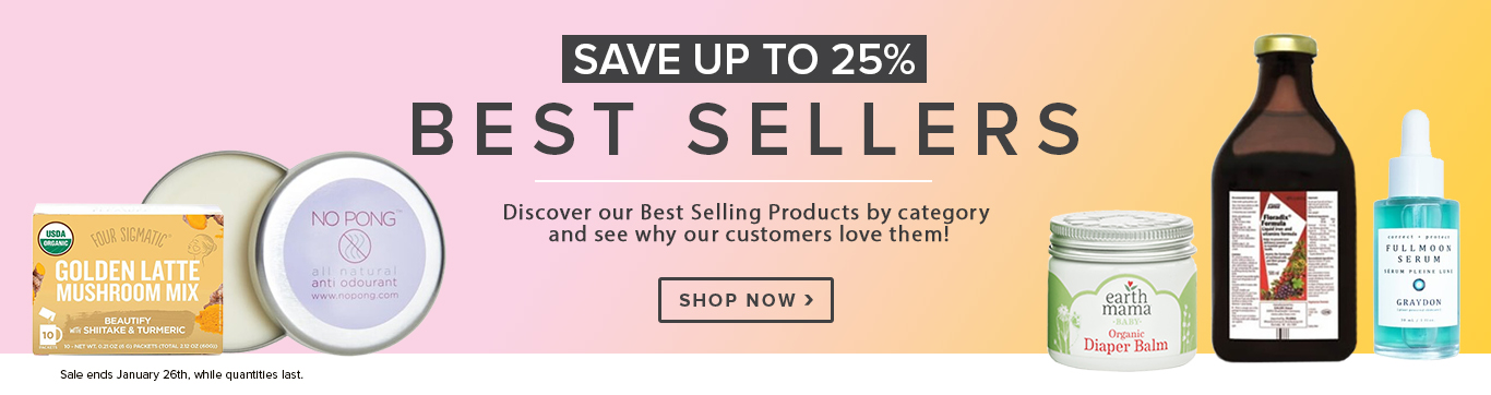 Save up to 25% off Best Sellers
