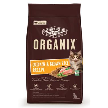Castor & Pollux Organix Chicken & Brown Rice Cat Food