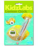 4M Kidz Labs Lemon Clock