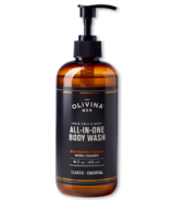 Olivina Men All-in-One Body Wash Bourbon Cedar