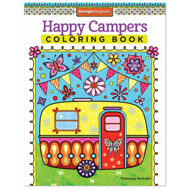 Fox Chapel Happy Campers Coloring Book