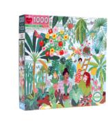 eeBoo Plant Ladies Square Puzzle