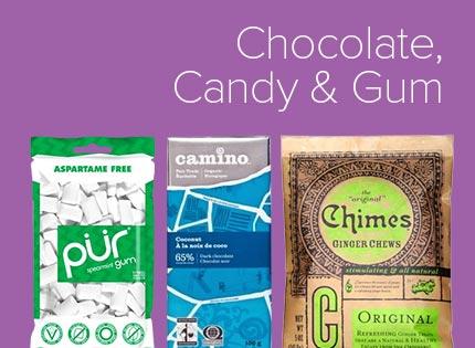 Chocolate, Candy & Gum