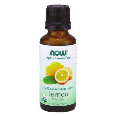NOW Essential Oils Organic Lemon Oil