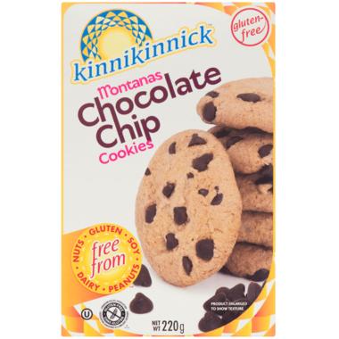 Kinnikinnick Gluten Free Chocolate Chip Cookies