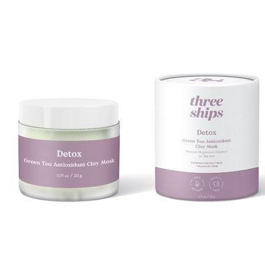 Three Ships Detox Green Tea Antioxidant Clay Mask