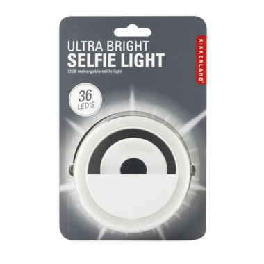 Kikkerland Ultra Bright Selfie Light