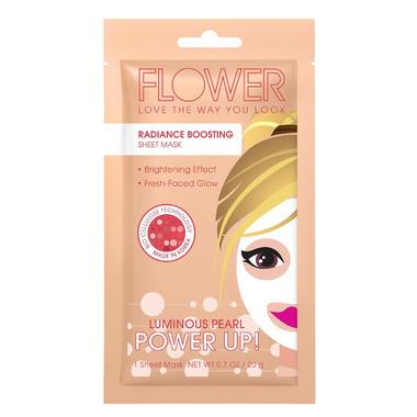 FLOWER Beauty Power Up! Sheet Mask Radiance Boosting