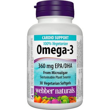 Webber Naturals Omega-3 100% Vegetarian EPA/DHA