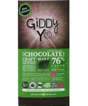 Giddy Yoyo Organic Chocolate Bar Mint