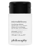 Solution de resurfaçage Microdelivery de la philosophie