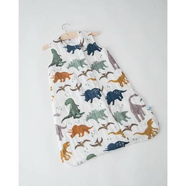 Little Unicorn Cotton Muslin Sleep Bag Dino Friends