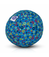 BubaBloon Balloon Cover Blue Circles