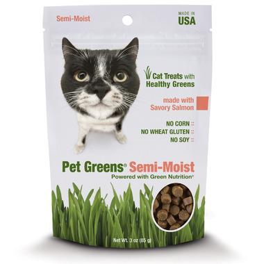 Pet Greens Semi-Moist Cat Treats with Savoury Salmon