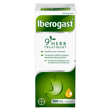 Iberogast 9 Herb Digestion Solution