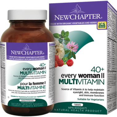 New Chapter Every Woman II 40+ Vitamin & Mineral Supplement