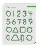 Kid O 0-9 Numbers & Shapes Magnatab